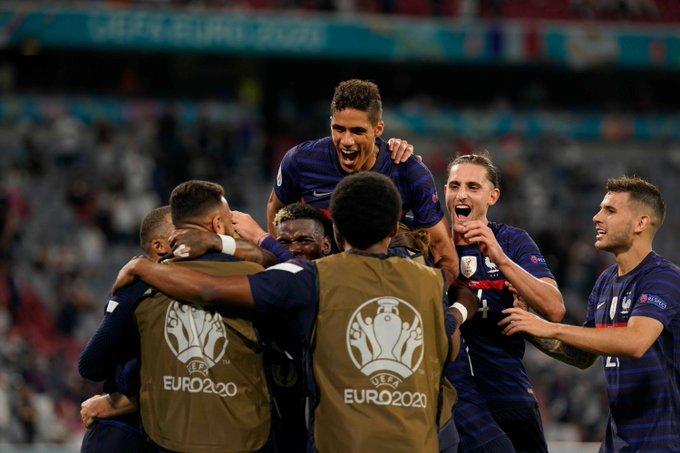 منتخب فرنسا - البرتغال وفرنسا
