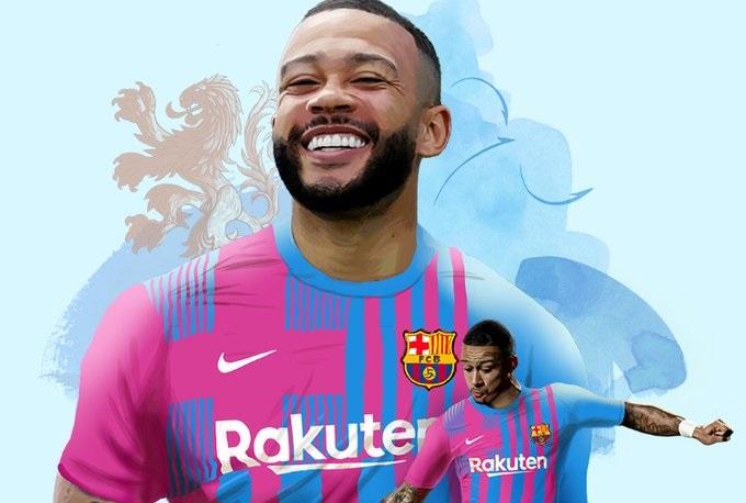 رسميًّا .. برشلونة يضم ممفيس ديباي لمدة موسمين