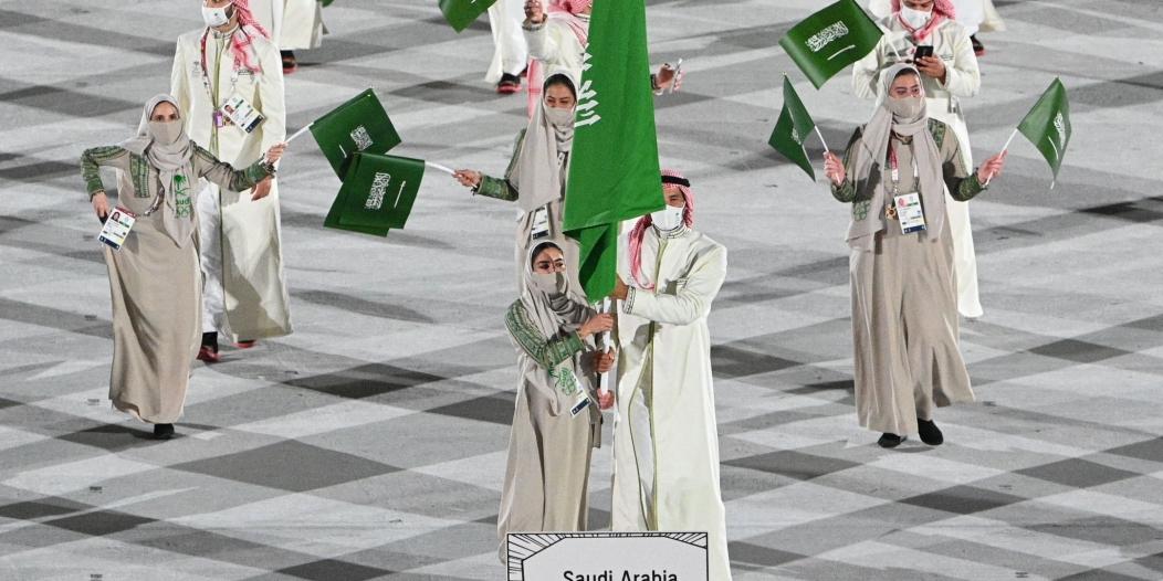 أكبر بعثة سعودية تُزين افتتاح طوكيو 2020