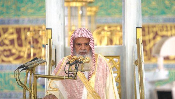 خطيب المسجد النبوي : لا تغلقوا باب الرحمة بمحاربة الله بالذنوب