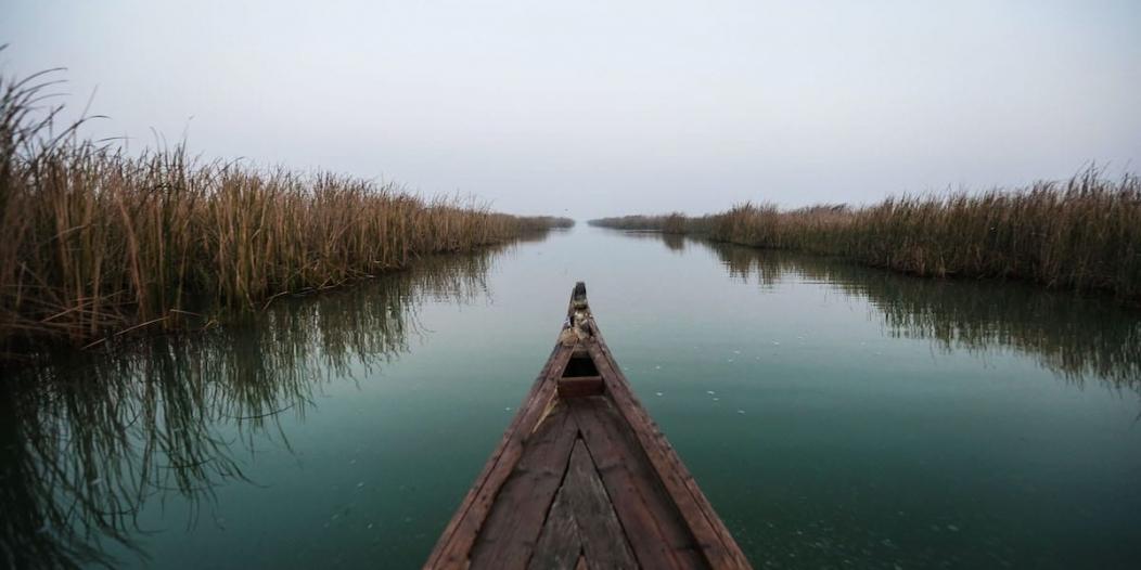 إيران تقطع الماء عن العراق
