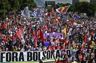 احتجاجات في البرازيل تطالب بتنحي الرئيس جاير بولسونارو