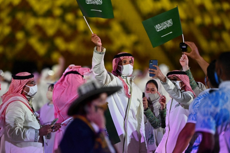 البعثة السعودية في دورة الالعاب الاولمبية