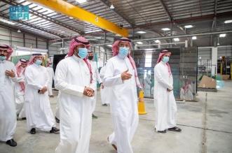 الخريف يدشن أول مصنع لإنتاج الزجاج في حائل - المواطن