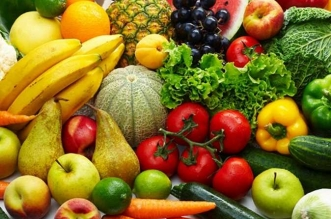 الخضروات والفواكه المستوردة