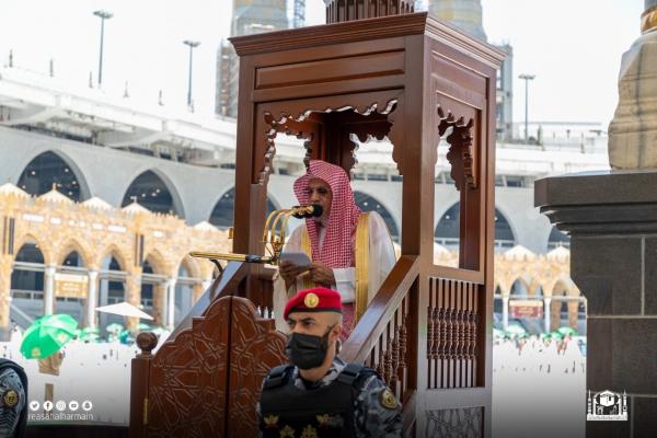 خطيب المسجد الحرام : السمعة الحسنة رأس مال المسلم