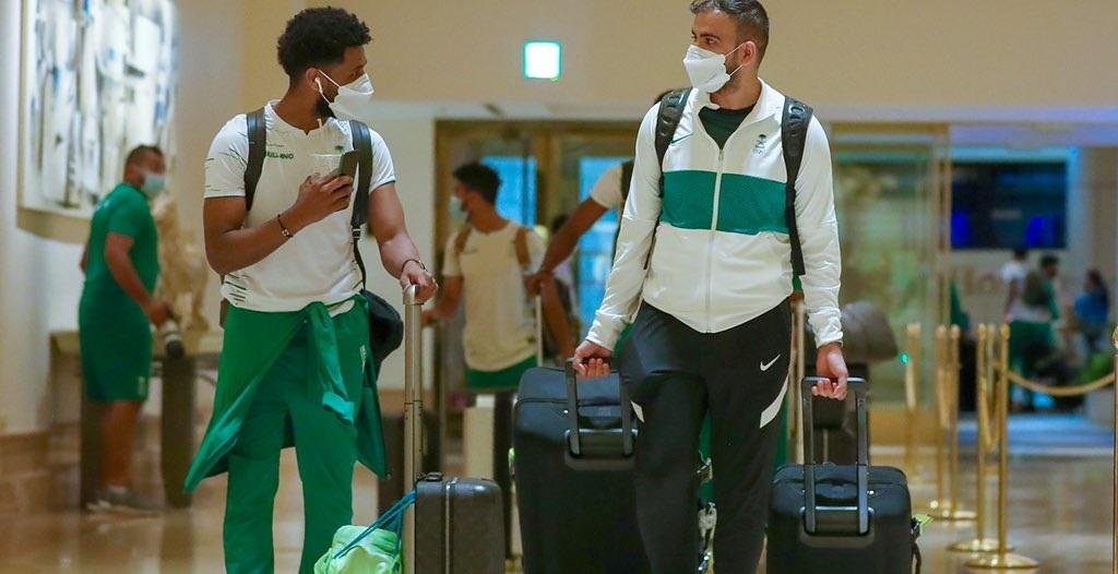 المنتخب السعودي يصل طوكيو