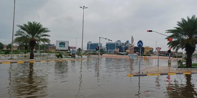 غرق شوارع جازان