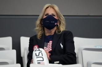 تصرف عفوي من جيل بايدن في أولمبياد طوكيو