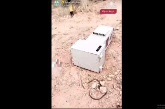 القبض على مواطن تعمد إتلاف جهاز رصد آلي في الرياض - المواطن