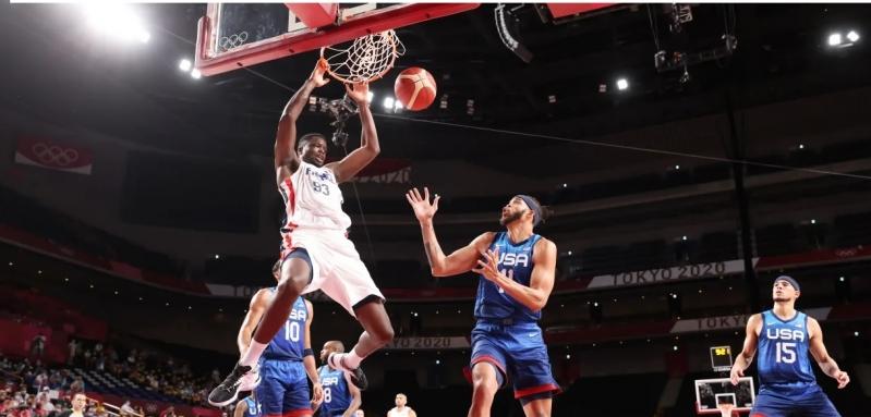 سلة فرنسا وأمريكا في أولمبياد طوكيو