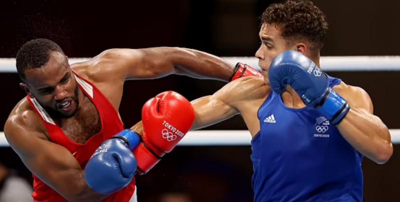 ملاكم مغربي يعض أذن منافسه في أولمبياد طوكيو !