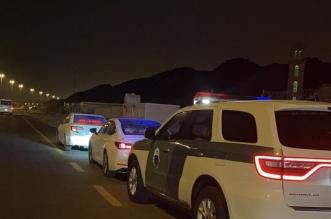 ضبط قائد مركبة قاد بسرعة عالية جدًّا في مكة المكرمة - المواطن