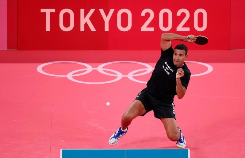 عمر عصر في أولمبياد طوكيو 2020