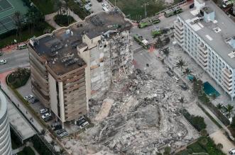 ارتفاع عدد القتلى في انهيار المبنى السكني في فلوريدا إلى 86 - المواطن