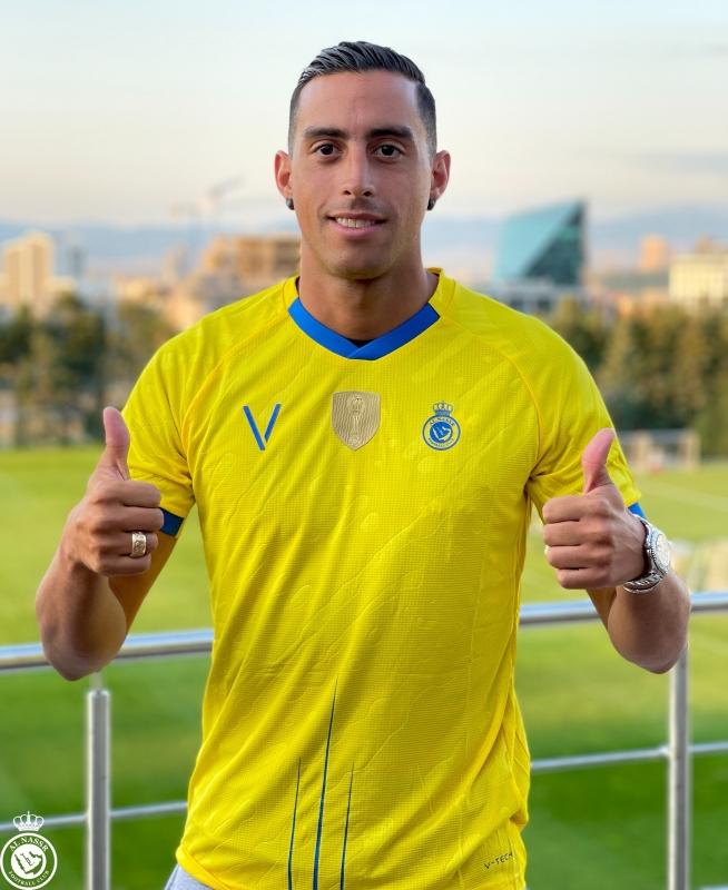 لاعب النصر فونيس موري