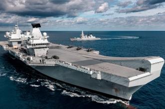 كورونا يتفشى على متن أكبر سفينة للبحرية البريطانية