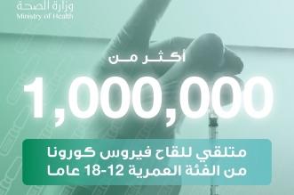 إعطاء أكثر من مليون جرعة لقاح كورونا للفئات العمرية من 12- 18 عامًا في السعودية - المواطن