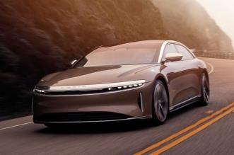 لوسيد تعلن بدء تسليم سياراتها الكهربائية العام المقبل
