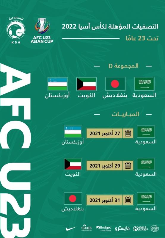 مباريات السعودية في كأس آسيا 2022