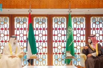 ولي العهد يجتمع بولي عهد أبوظبي ويستعرضان العلاقات الأخوية وأوجه التعاون الثنائي والمستجدات - المواطن