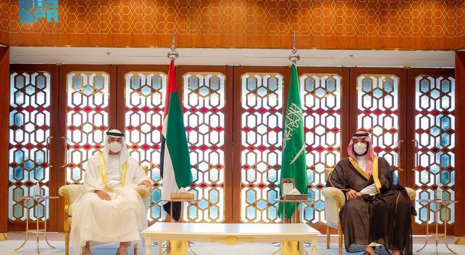 ولي عهد أبوظبي: سعدت بلقاء محمد بن سلمان في الرياض والشراكة بين الإمارات والسعودية قوية ومستمرة