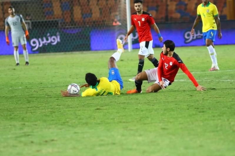 مصر ضد البرازيل