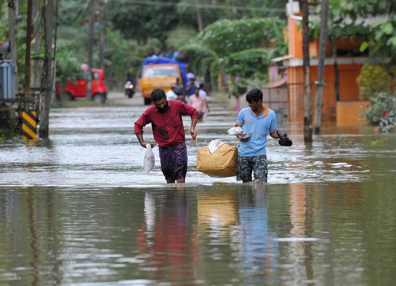 مقتل 36 شخصًا في الهند بانهيارات أرضية جراء الفيضانات