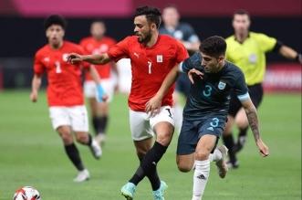 منتخب مصر في الأولمبياد 1