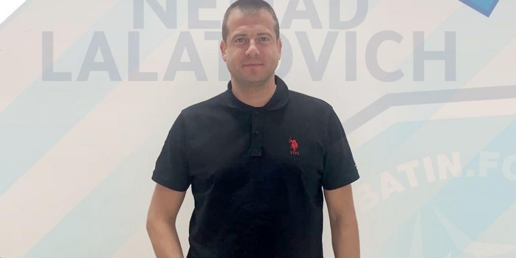 نيناد لالاتوفيتش يبدأ مهمته مع الباطن
