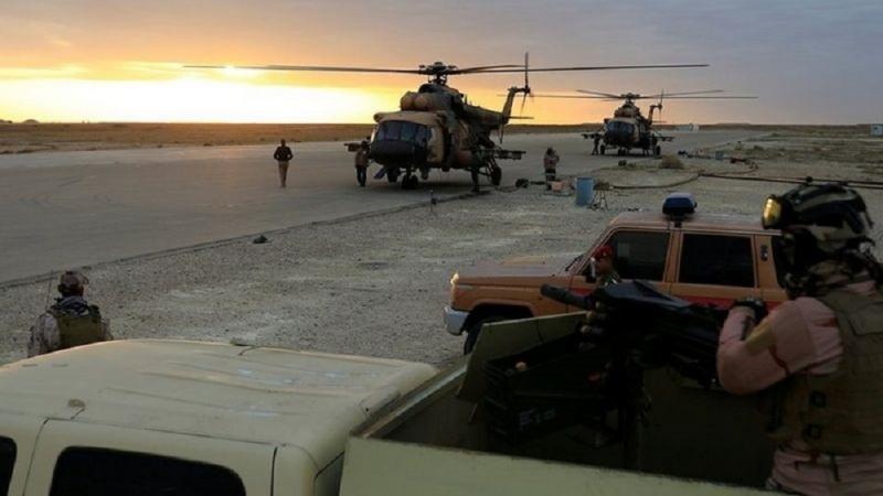هجوم على قاعدة عين الأسد في العراق