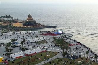 واجهة جدة البحرية تستقبل المتنزهين والزوار خلال عيد الأضحى - المواطن