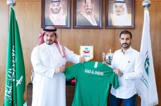 ياسر المسحل ومدرب الأخضر الأولمبي