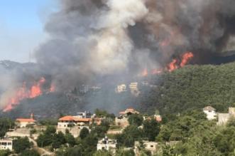 اندلاع حريق هائل أقصى شمال لبنان - المواطن