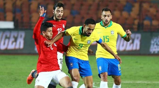 تشكيل الفراعنة المتوقع لـ مباراة مصر والبرازيل