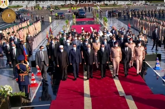 الرئيس السيسي يتقدم جنازة جيهان السادات - المواطن
