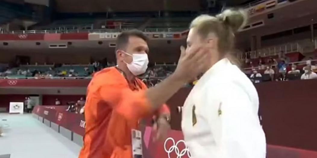 أول رد من لاعبة الجودو الألمانية بعد صفعها بـ أولمبياد طوكيو