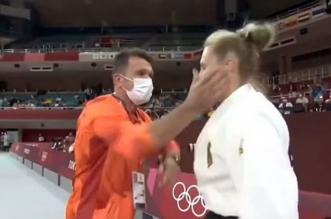لاعبو الجودو الألمانية مارتينا في أولمبياد طوكيو