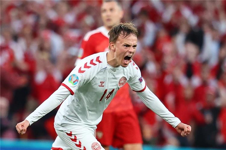 ميكيل دامسجارد لاعب الدنمارك