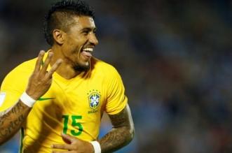 باولينيو لاعب منتخب البرازيل