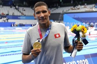 السباح التونسي أحمد الحفناوي - أولمبياد طوكيو