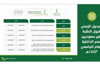 جامعة الشمالية تفتح بوابة القبول للمنح الدراسية للطلبة غير السعوديين - المواطن