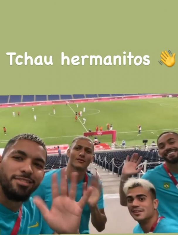 لاعبو البرازيل يسخرون من منتخب الأرجنتين