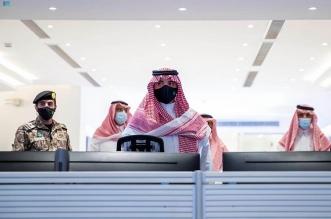 وزير الداخلية يقف على سير العمل بمركز القيادة والسيطرة في مشعر منى - المواطن