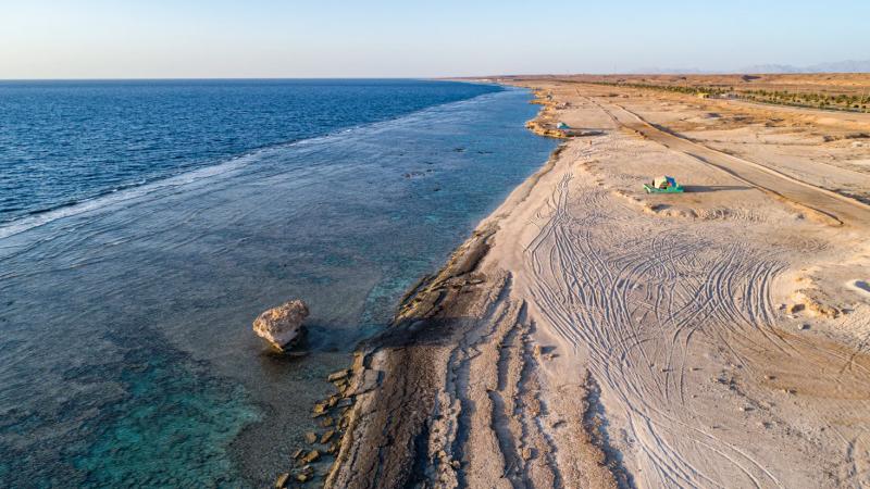 CNN شاطئ الدرر في السعوديةيجمع بين الجو المعتدل والطبيعة الخلابة