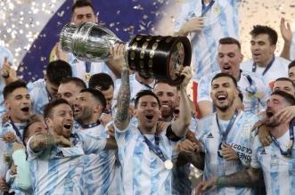 الأرجنتين تتوج بكأس أمريكا الجنوبية بعد فوزها على البرازيل - المواطن