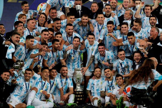 ميسي مع منتخب الأرجنتين