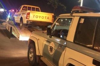 مفحط الطوال في قبضة رجال المرور - المواطن