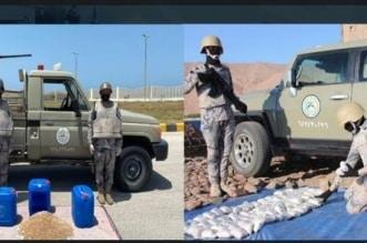 حرس الحدود يحبط تهريب 1,2 مليون قرص إمفيتامين و241 كجم حشيش - المواطن