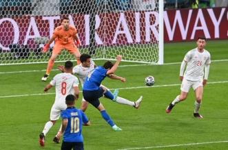 مباراة إيطاليا ضد منتخب إسبانيا